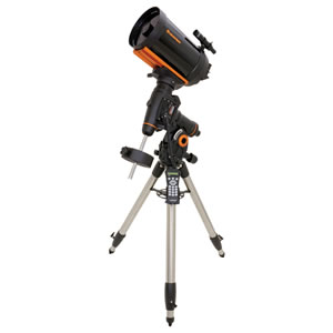 CELESTRON 8 inch Schmidt-Cassegrain Telescope, GPS Compatible, with Computerized Equatorial CGEM 800 Mount