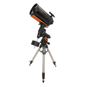 Celestron 9.25 inch Schmidt-Cassegrain Telescope, GPS Compatible, with Computerized Equatorial CGEM-925 Mount