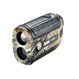Bushnell Yardage Pro Scout 1000 w/Arc Rangefinder 5x, 24mm, Realtree Hardwoods, Carrying Case