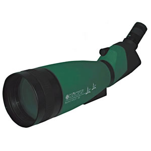 KONUS KONUSPOT 20-60 x 100 Waterproof Spotting Scope  - 100mm Angled Scope w/ Photo Adapter