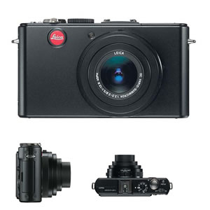 Leica D-LUX 4 Compact Digital Camera, 10.1MP, with 2.5x LEICA DC VARIO-SUMMICRON Zoom Lens, 3