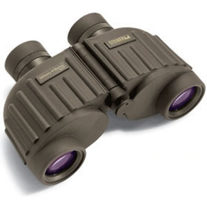 Steiner 8 x 30 Military Marine, Waterproof / Fogproof Porro Prism Compact Binocular with 7.4 Degree Angle of View, Green