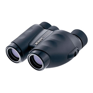 Nikon 8 x 25 Travelite V, Weather Resistant Porro Prism Binoculars with 5.6 Degree Angle of View