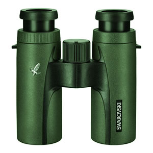 Swarovski Optik 10x30 CL Companion Waterproof and Fogproof Compact Roof Prism Binocular 58141 with 5.7 Degree Angle of View, Green