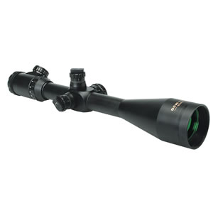 Konus Riflescope Konuspro M30 3-12x56, illuminated 30/30 reticle, 30mm Black, Bubble Level