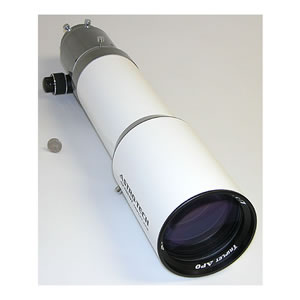 Astronomy Technologies Astro-Tech AT111EDT OTA Telescope 111mm f/7 ED triplet apochromatic refractor, white