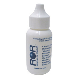Lumicon ROR Lens Cleaner is 1 OZ one drop at a time dispenser