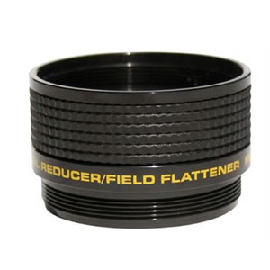 Meade three-element f/5 focal reducer/field flattener for triple-element telescopes