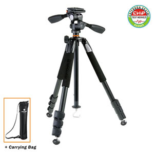 Vanguard Tripod Alta+ 234AP w/3-way pan head for Spotting Scope