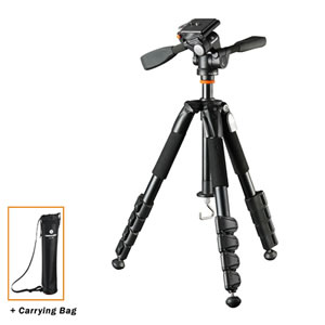 Vanguard Tripod Alta+ 235AP w/3-way pan head for Spotting Scope