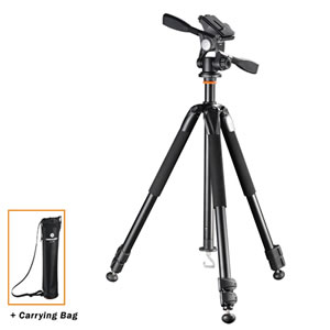 Vanguard Tripod Alta+ 263AP w/3-way pan head for Spotting Scope