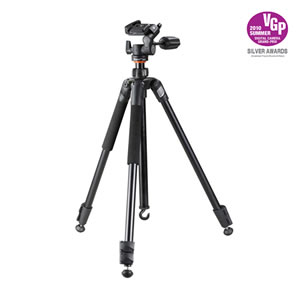 Vanguard Compact tripod Espod Plus 203AP w/3-way pan head for photographers