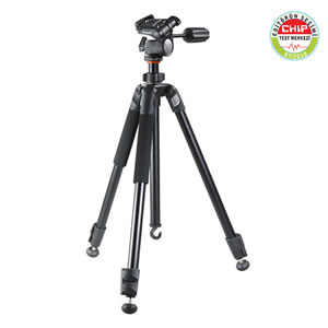 Vanguard compact Aluminum tripod Espod Plus 233AP w/3-way pan head for photographers