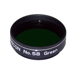 Lumicon #58 Dark Green 1.25 inch Filter