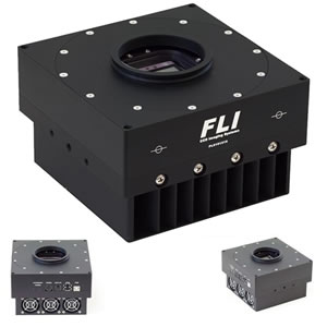 FLI ProLine CCD Camera E2V CCD47-20-1-339 BI AIMO MID Band AR COATING