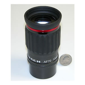 Astro-Tech 13mm 70 Degree field AF Series Eyepiece, with dual 1.25