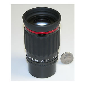 Astro-Tech 17mm 70 Degree field AF Series Eyepiece, with dual 1.25