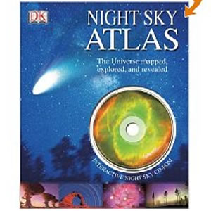 Night Sky Atlas - The Universe mapped, explored, and revealed - by DK Publishing