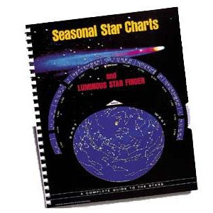 Seasonal Star Charts W/GLOW-IN-THE-DARK PLANISPHERE