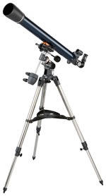 Celestron Telescope AstroMaster 70 EQFreight Included