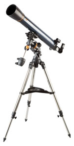 Celestron Telescope AstroMaster 90 EQFreight Included