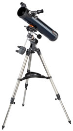 Celestron Telescope AstroMaster 76 EQFreight Included