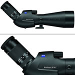 Zeiss Victory Diascope 85 T* FL 20-75X Spotting Scope Angled Black