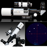 Explore Scientific 80mm f/6 Air-Spaced Triplet ED Apochromatic Refractor