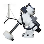 iOptron iEQ45 GoTo German Equatorial Mount with Modified Clutch and Pier for Telescopes