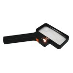 Hawk 2 inch X 4 inch Illuminated Magnifier