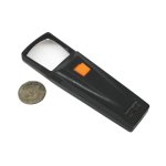 Hawk 1.25 inch X 1.25 inch Small Illuminated Magnifier