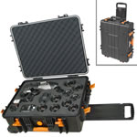 Vanguard Supreme 53F Heavy Duty Waterproof and Dustproof Professional Hard Case with Pick n Pluck Foam Interior