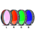 Baader Planetarium LRGB 2 inch Filter Set, round, mounted and threaded