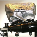 Telegizmos Field Pack Covers For 50mm Finder For In-Field Protection & Dew Control