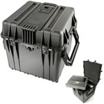 Pelican 24 inch cube Hard Case w/Foam Black