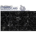 Sky Publishing - Messier Card (Laminated)